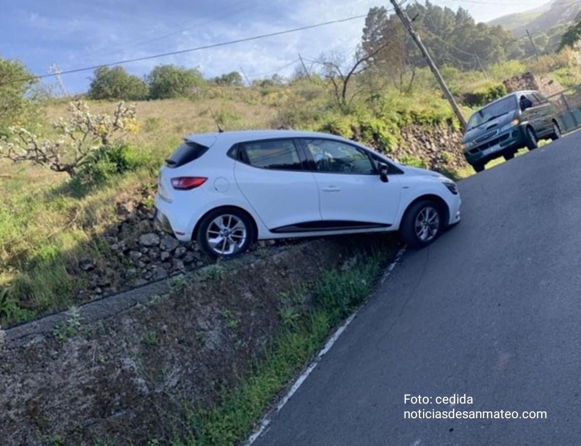 Accidente sin heridos en La Lechuza