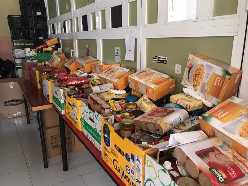Alimentos servicios sociales- ayudas noviembre 2020