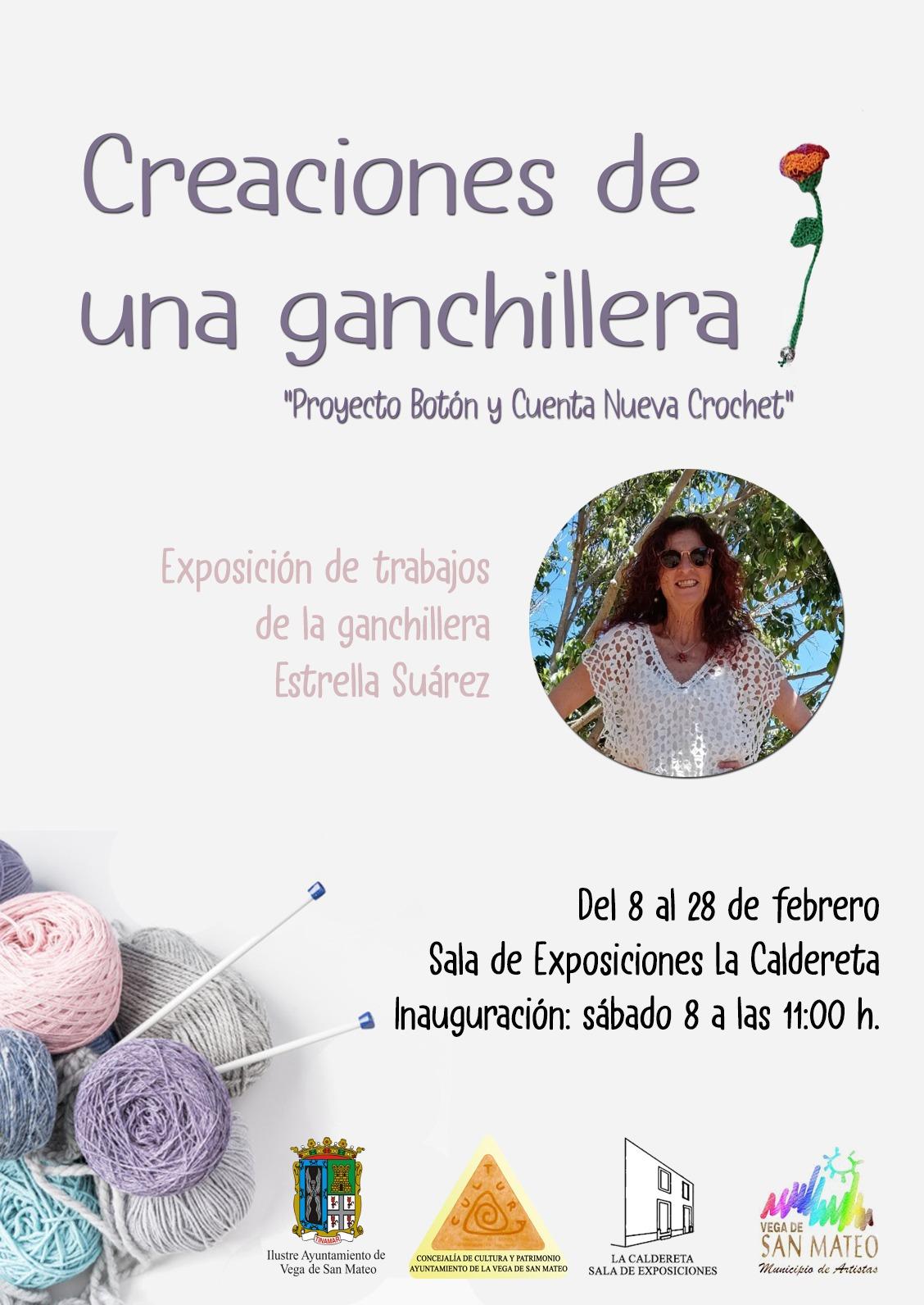CARTEL EXPO GANCHILLO