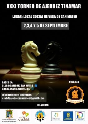 Septiembre traerá de vuelta el Torneo de Ajedrez Tinamar