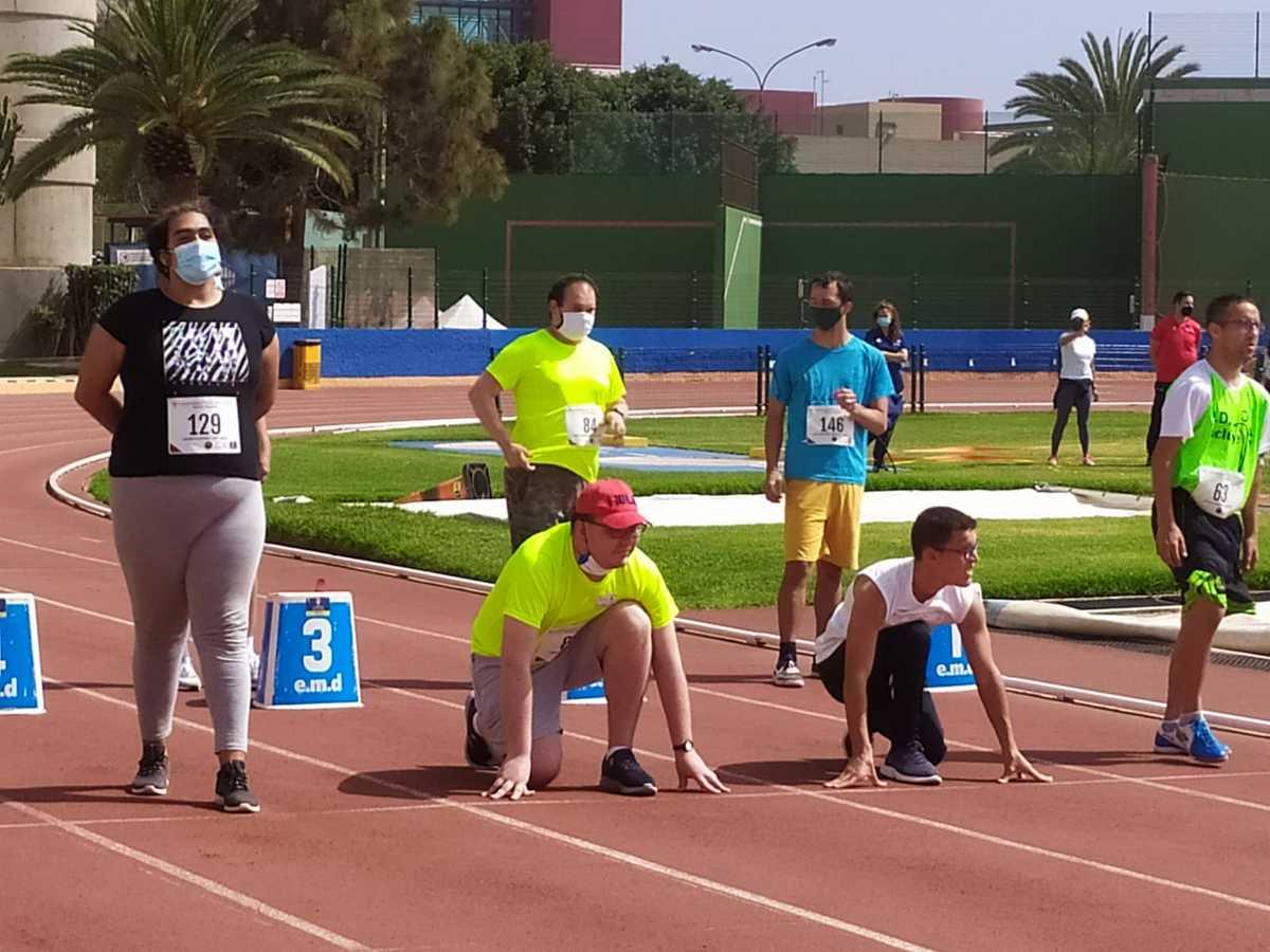Centro ocupacional sm campeonato atletismo