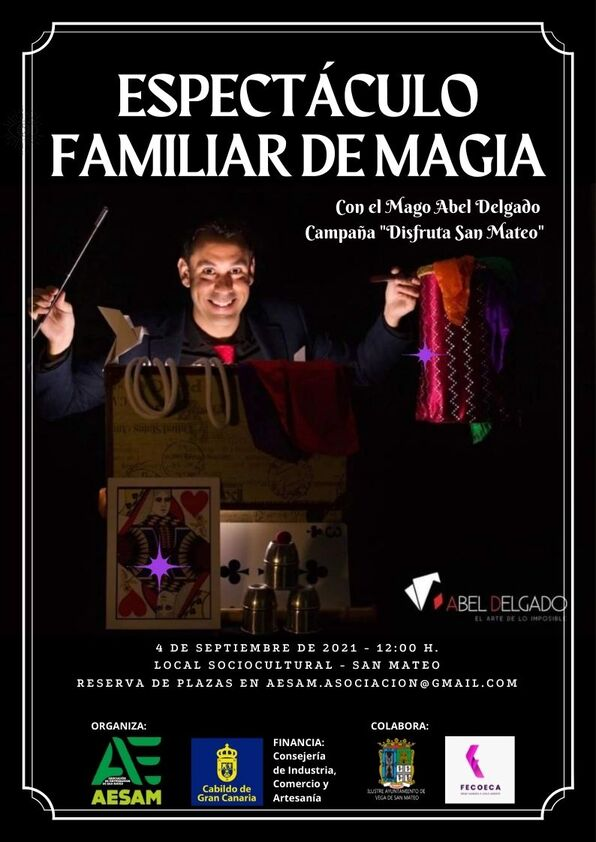 Espectáculo familiar de magia AESAM (1)