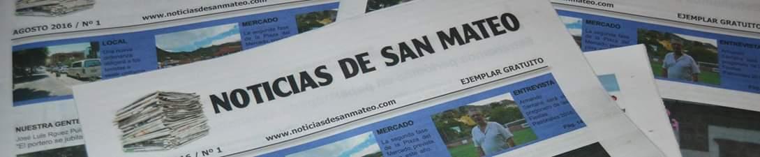 """El nuevo número de """"Noticias de San Mateo"""" en papel verá la luz en breve"""