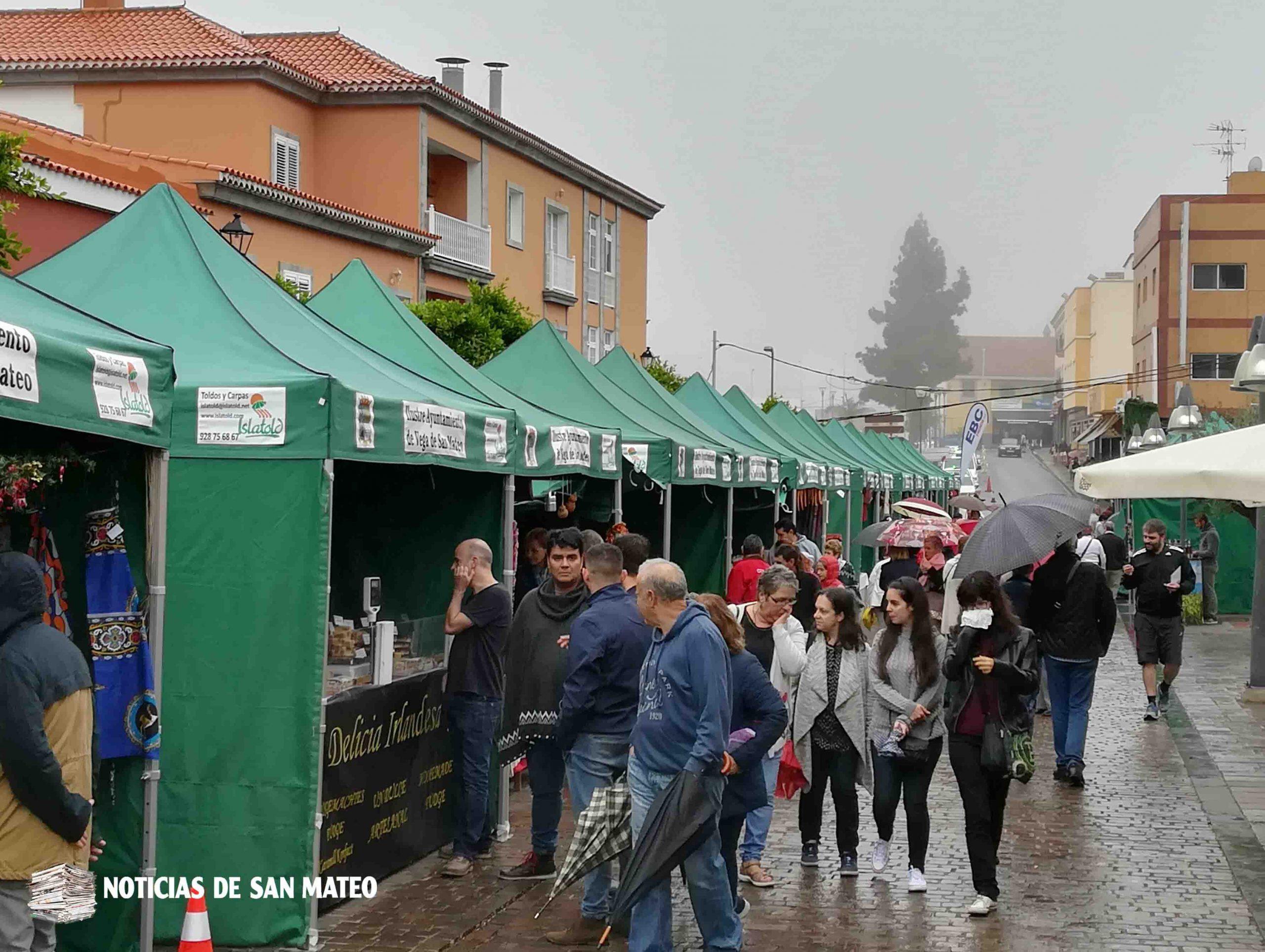 Más de 40 stands participarán en la Feria de Navidad de San Mateo