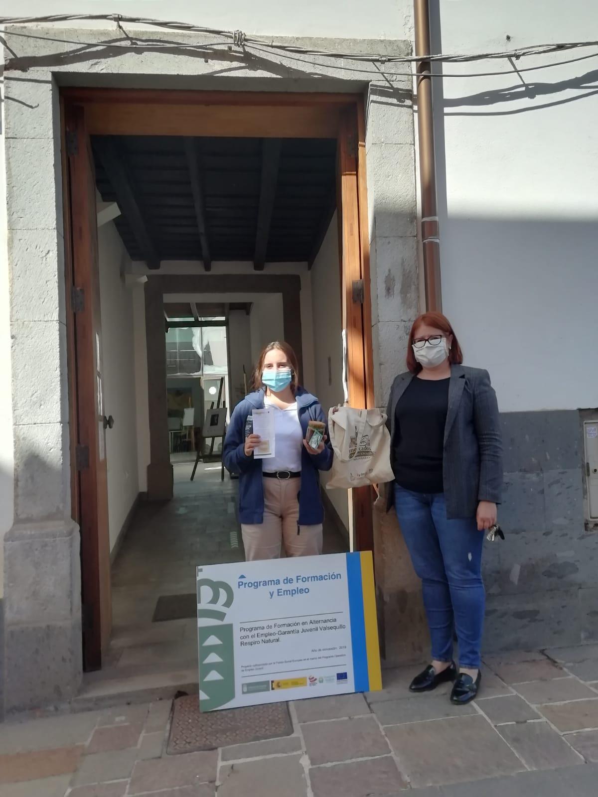 Jóvenes valsequilleros visitan San Mateo en el marco de un programa de formación