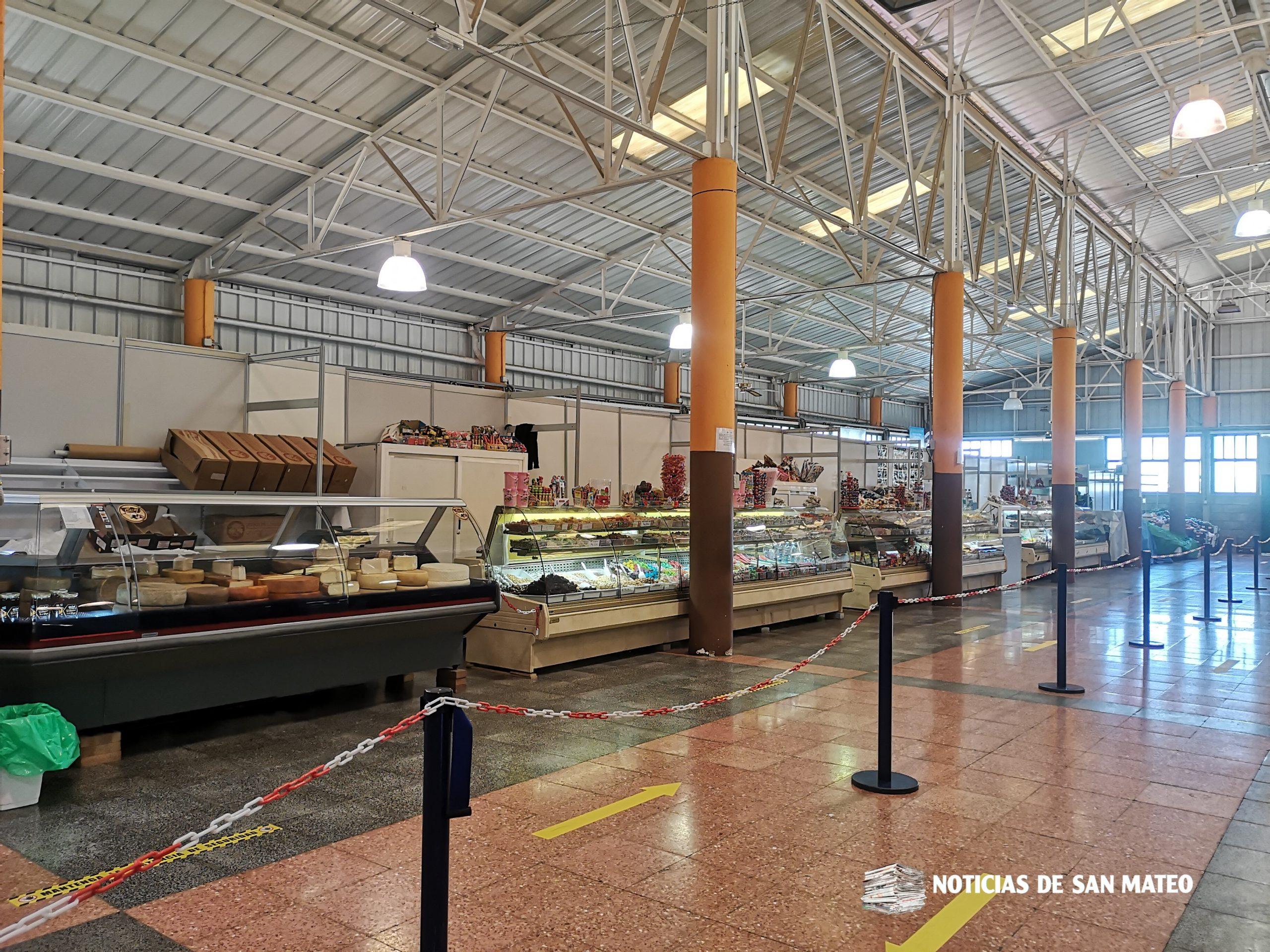 El Mercado Agrícola de San Mateo reabre adaptado a las nuevas medidas sanitarias