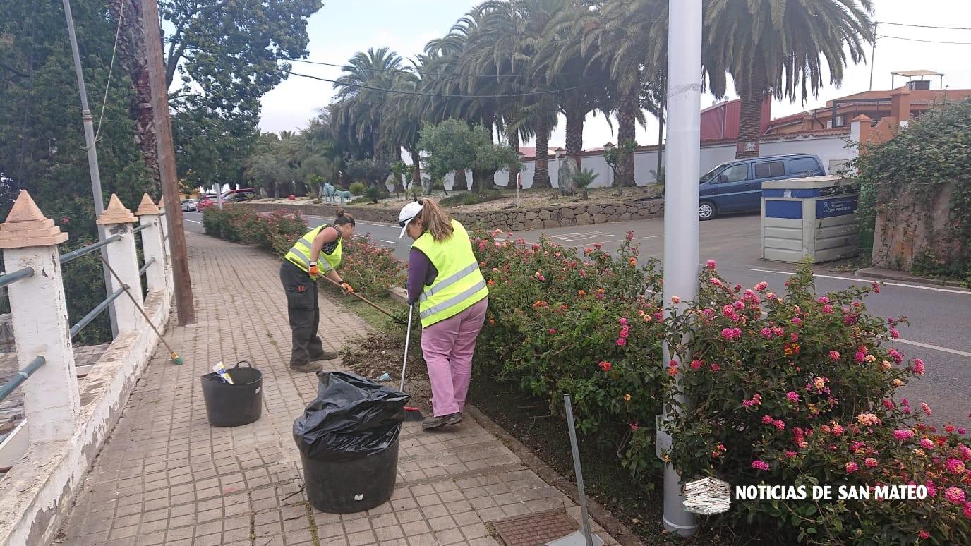 Limpieza en La Veguetilla – San Mateo – 22 marzo 2019