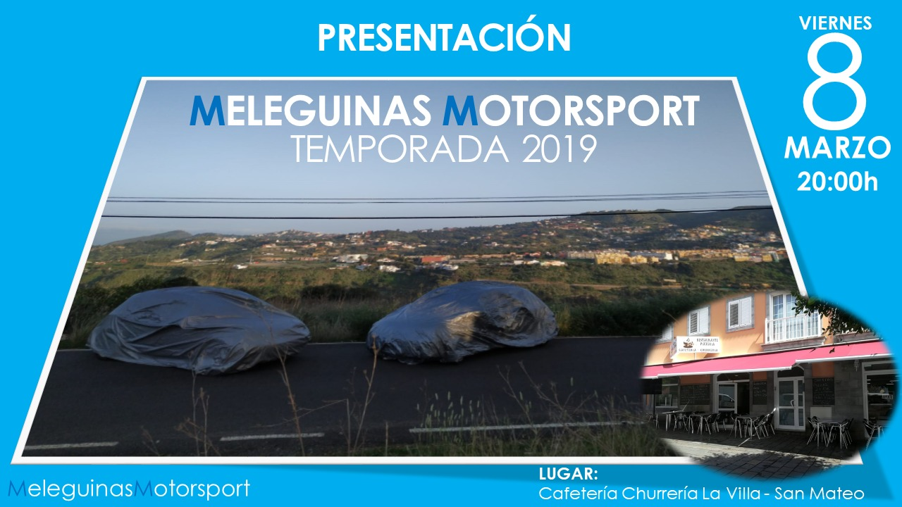 Presentación Meleguinas Sport en La Villa San Mateo – Marzo 2019