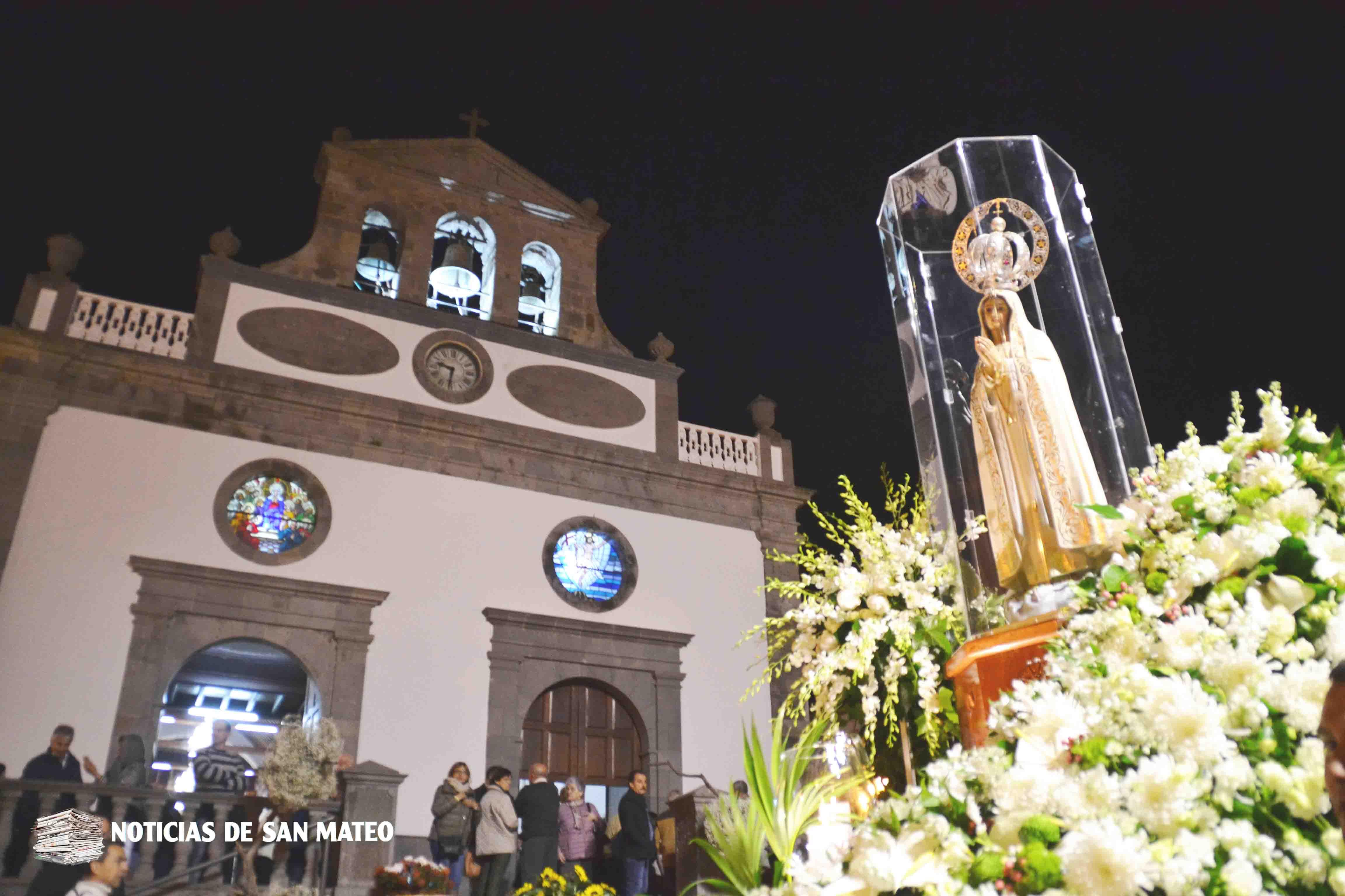 Procesión Virgen de Fátima 2018 – Noticias de San Mateo
