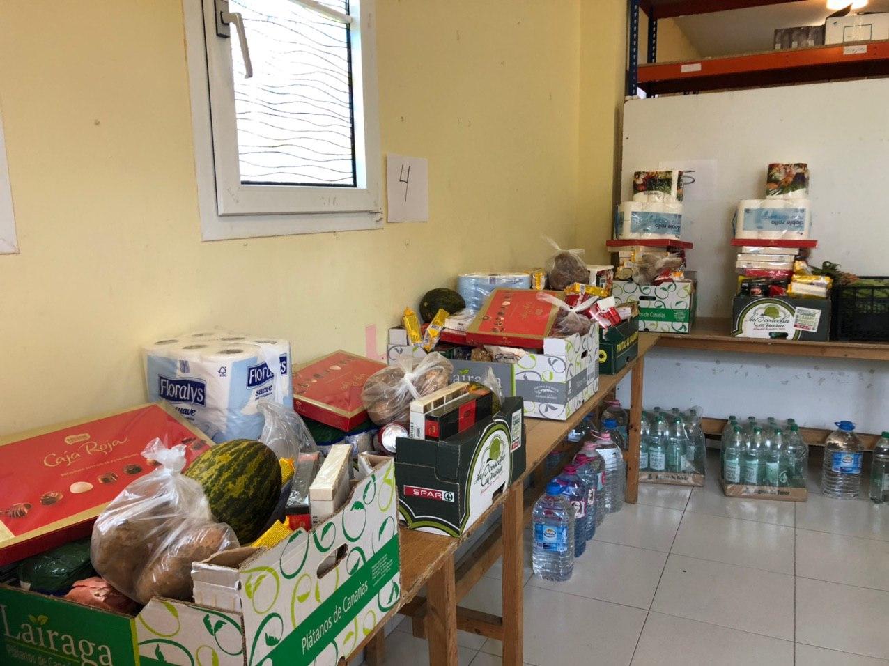 Servicios Sociales realiza un nuevo reparto de alimentos a familias del municipio