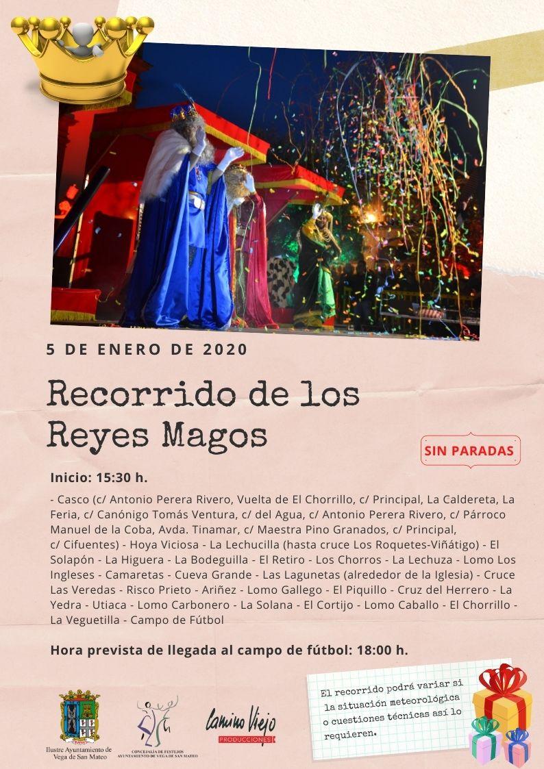 Recorrido Reyes Magos