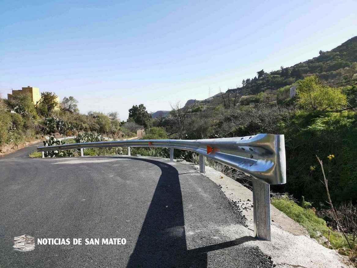 Valla instalada en Las Arenillas