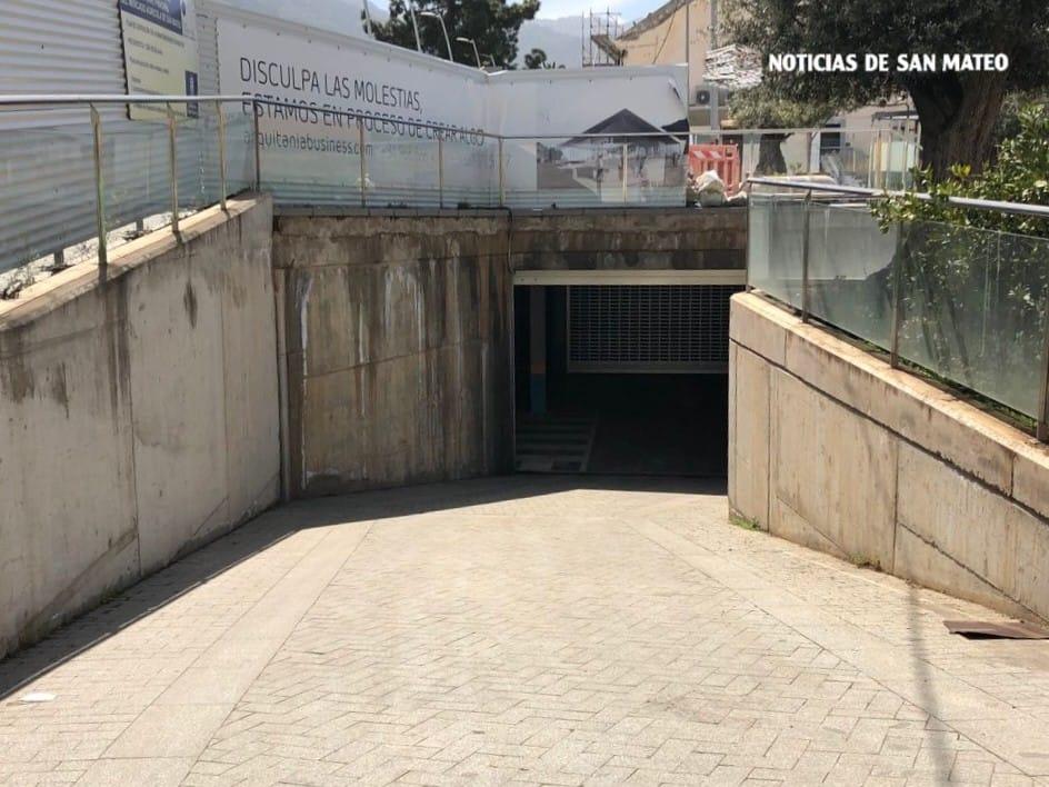 aparcamiento subterraneo mercado san mateo