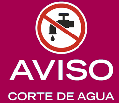 aviso agua