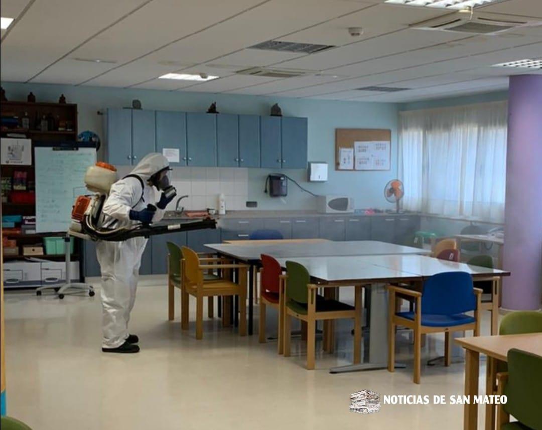 desinfeccion centro ocupacional