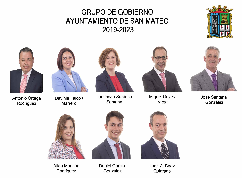 grupo gobierno de san mateo 2019-2023