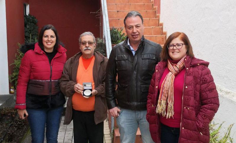 medalla parlamento prote civil