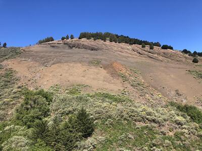 Rescatados cuatro senderistas en la Montaña de la Guirra