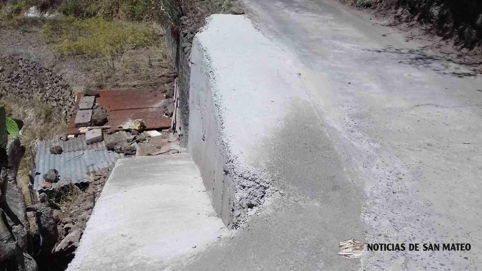 – muro en El Lomito de Ariñez San Mateo Agosto 2019