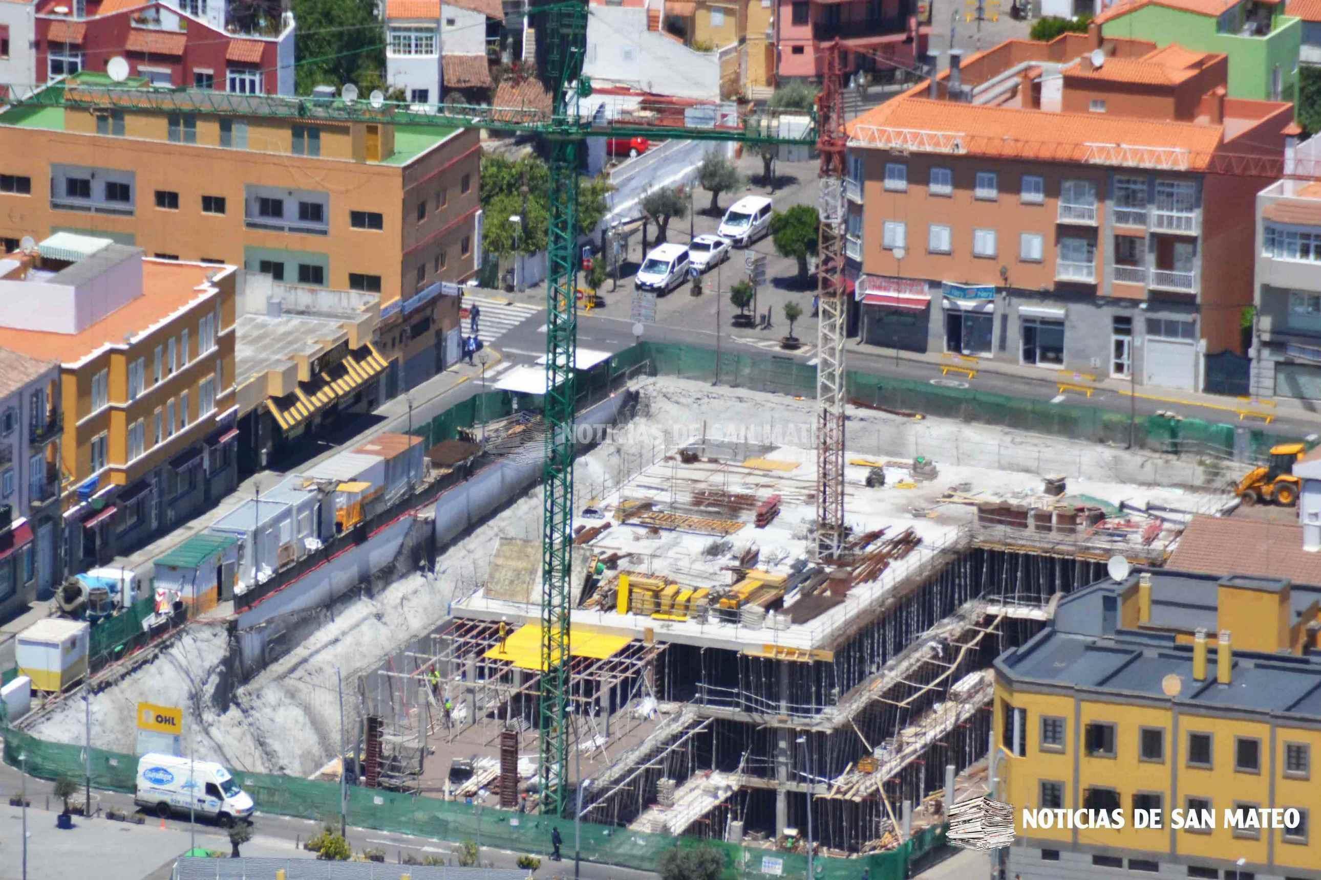 obra plaza del pueblo mayo 2019 – foto laura miranda – noticias de san mateo