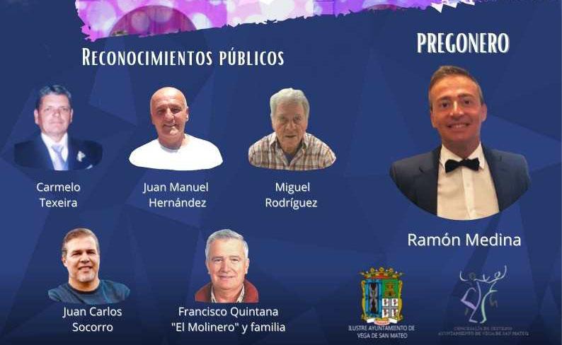 San Mateo entrega esta noche diferentes reconocimientos a personas vinculadas al municipio