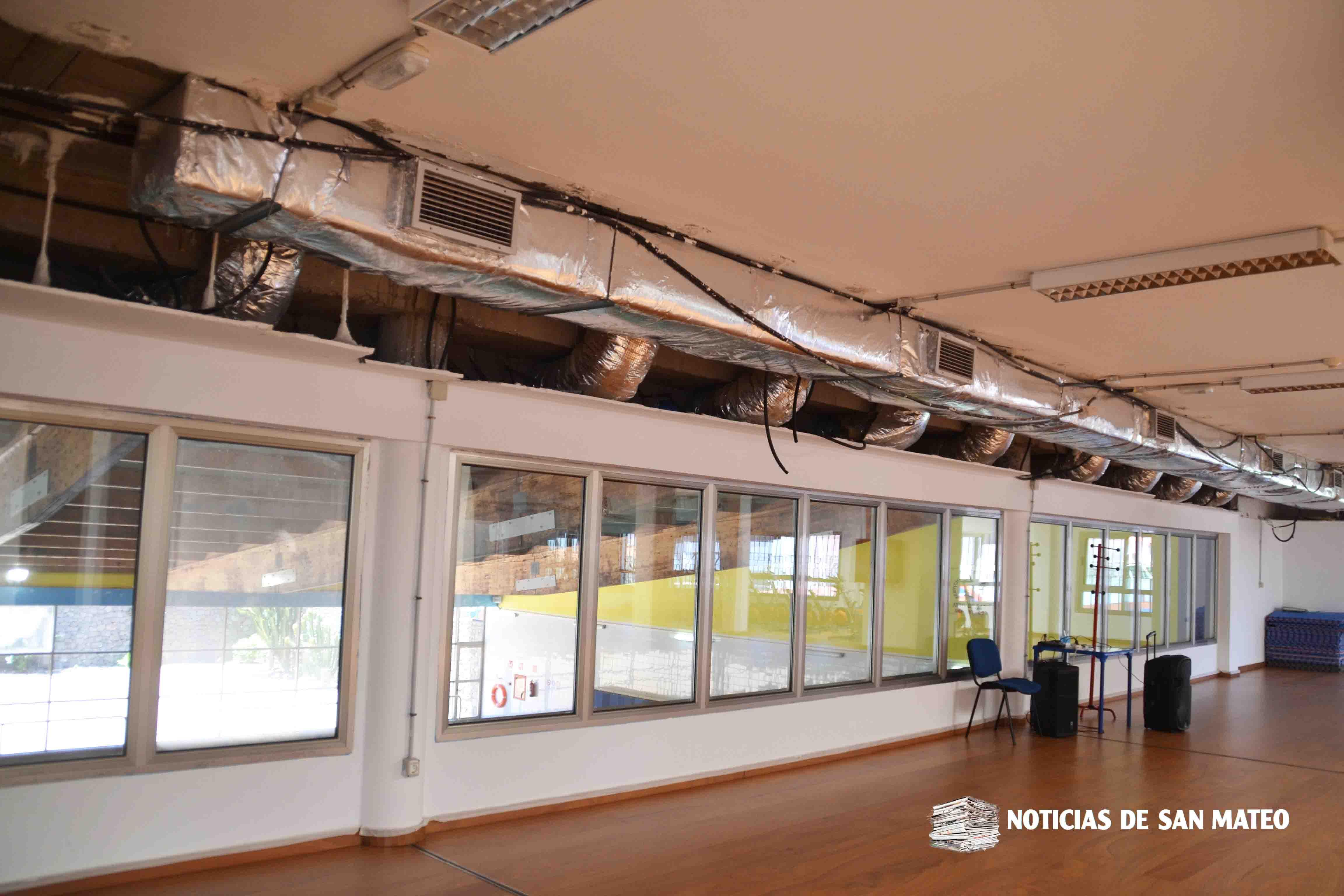 sala actividades piscina municipal san mateo – mayo 2019