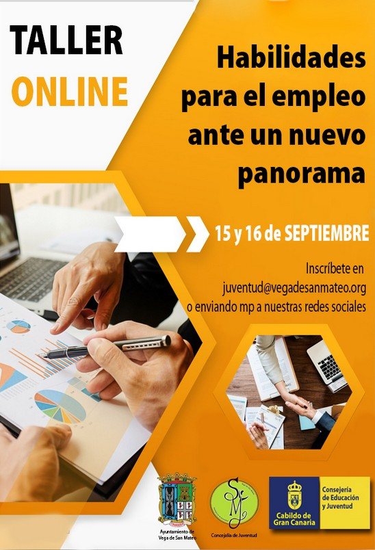 Juventud organiza un taller online relacionado con el empleo