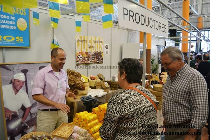 Medio centenar de productores de toda Canarias se darán cita en San Mateo